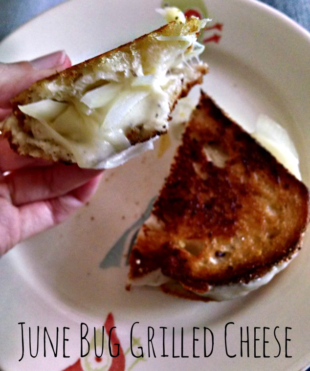 June Bug Grilled Cheese from Relish the Feast