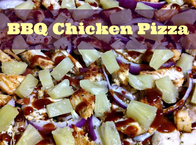 BBQ Chicken Pizza from Relish the Feast