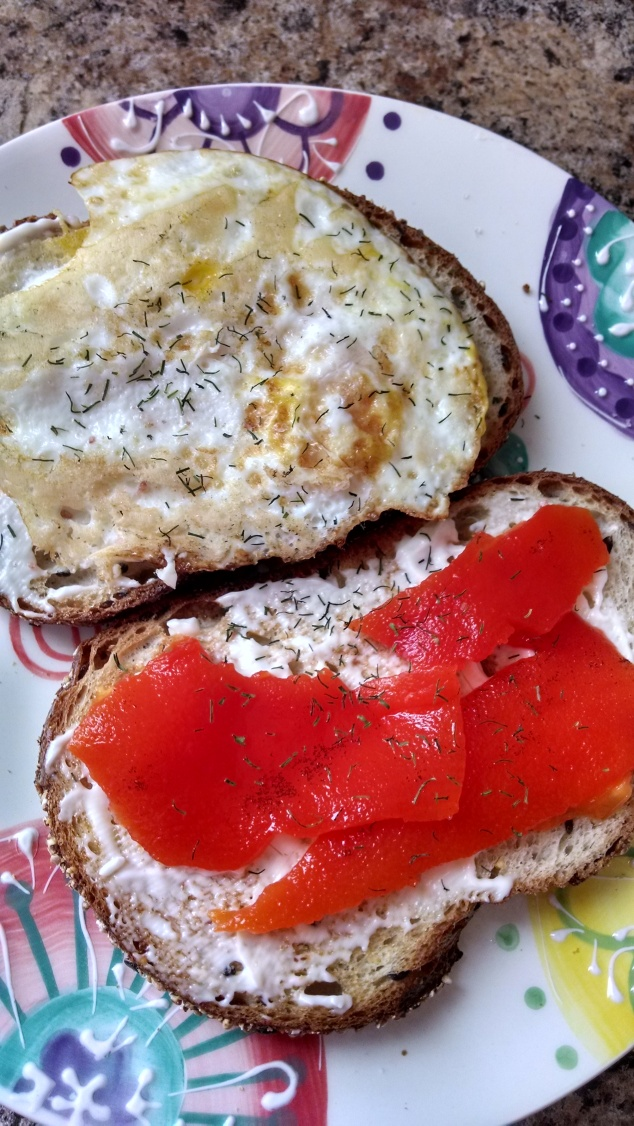 Breakfast Sammie from Relish the Feast