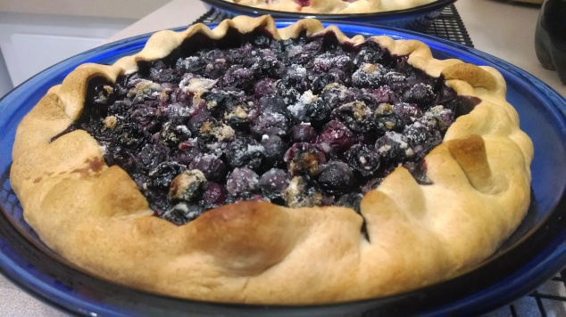 Blueberry Pie from Relish the Feast