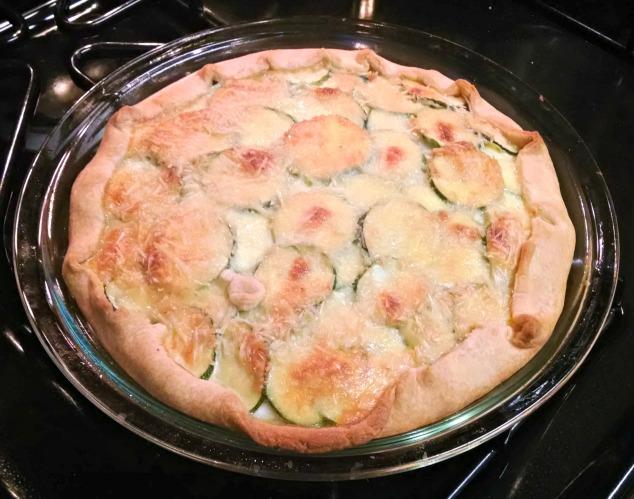 Zucchini Tart Yum