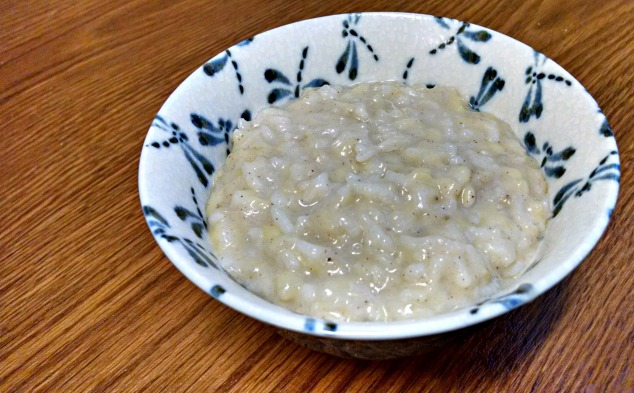 Banana Rice Porridge from Relish the Feast