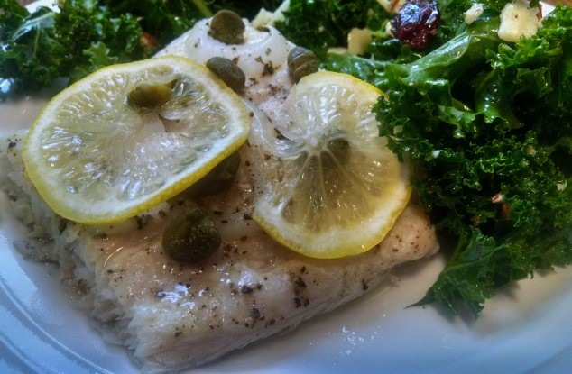 Lemony Cod from Relish the Feast